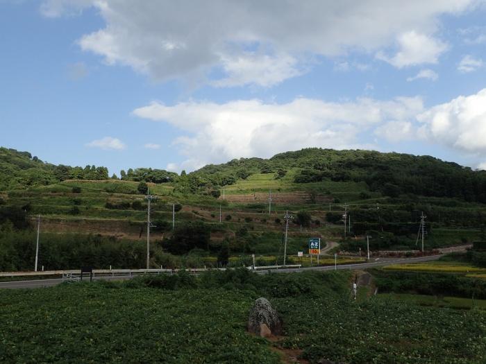 白木平石積の棚畑